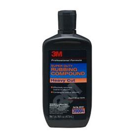 3M Super Duty Rubbing Compound, 16 ounce - 39004