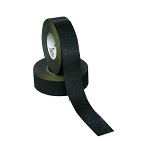 "3M Safety-Walk Slip-Resistant General Purpose Tapes and Treads 610, 6"" x 24"", 50 treads per box, Black - 19218"