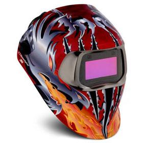 3M Speedglas Razor Dragon Welding Helmet 100 With Auto-Darkening Filter - 49954