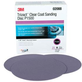 3M Trizact Hookit Clear Coat 6