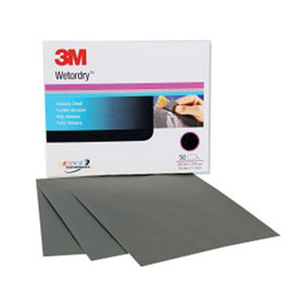 3M Wetordry Paper Sheets