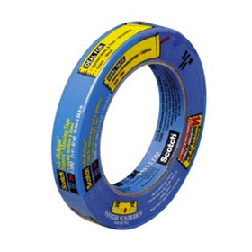 3M ScotchBlue Painters Tape for Multi-Surfaces, 25 mm (1 inch) width - 09171
