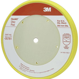 "3M Hookit 8"" Disc Pad - 05781"