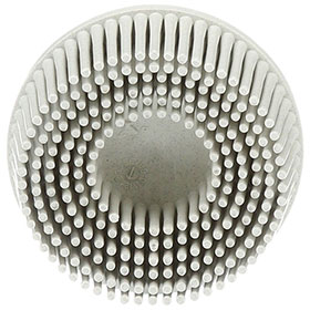"3M Scotch-Brite Roloc Bristle Disc White, 2"", Fine, 10 discs/bx - 07528"