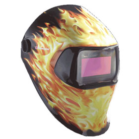 3M Speedglas Blazed Welding Helmet 100 with Auto-Darkening Filter - 37233