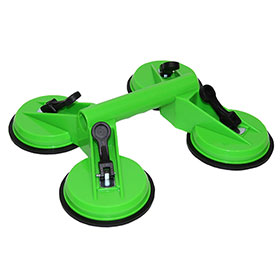 Grip 4-Head Suction Cup Windshield Holder/Dent Puller