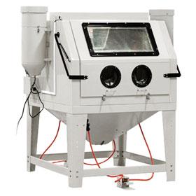 Allsource Dual Station Abrasive Blasting Cabinet - 41200