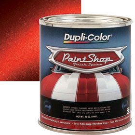 Dupli-Color Paint Shop Finishing System Molten Red Metallic Paint - BSP212