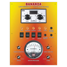 Bananza SPRAY-CURE B-Series Direct-Fired Make-up Air System - B-1000