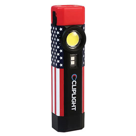 Cliplight Patriot Rechargeable UV-LED Pocklight