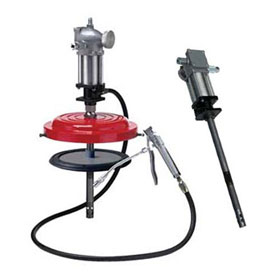 ATD Tools Air Operated High Pressure Grease Pump for 25 to 50 lbs. Drums