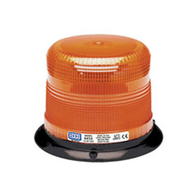 "ECCO Strobe Beacon Light Low Profile, 3-Bolt/1"" Pipe Mount, 12-24 VDC"