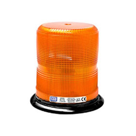 "Ecco 360º Strobe Beacon Light, 3-Bolt/1"" Pipe Mount, 12-24 VDC"