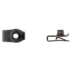 6mm Short Fold Clip 'U' Extruded Nut
