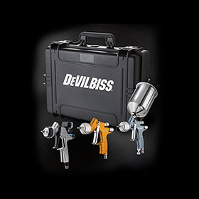 DeVilbiss Ultimate 3-Gun Kit - 704514