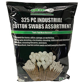 325pc. Industrial Cotton Swabs Assortment