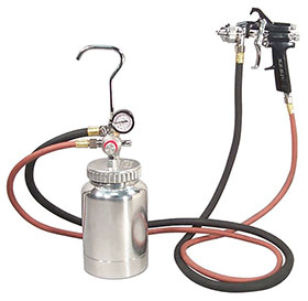 Astro Pneumatic 2-Quart Pressure Feed Paint Gun System with 1.7mm Tip - 2PG8S