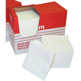 Merfin Vicell Airlaid Folded Wipes