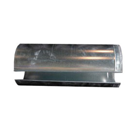 """RTT Col-Met 3' Duct Section for Use with Chimney Kit - 24"""" Diameter"""