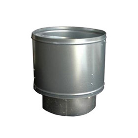 "Col-Met 9' Chimney Kit with ARV - 24"" Diameter"