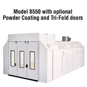 Col-Met White Powder Coating Booth Upgrade
