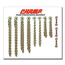 Champ Chain Tool Board with Choice of Hooks