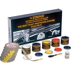 EZ Red The Striper Professional Paint Pinstriping Kit
