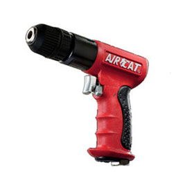 "AIRCAT Quiet 3/8"" Reversible Drill w/Keyless Chuck - 4338"