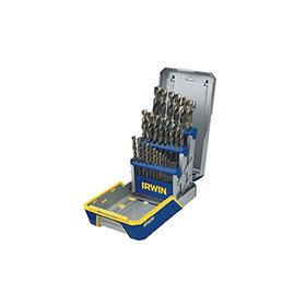 Irwin 29-Piece Turbomax Metal Index Drill Bit Set - 3018006B