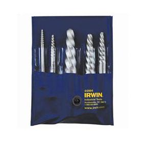 Irwin 5 Pc. Spiral Flute Screw Extractor Set - 53535