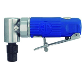 "Astro Pneumatic Blue Composite Body 1/4"" 90° Angle Die Grinder Front Exhaust - 20,000rpm - 1240"