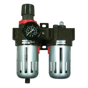 "Astro Pneumatic 3/8"" Filter, Regulator & Lubricator with Gauge - 2616"