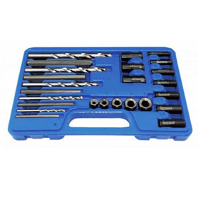 Astro Pneumatic 25pc. Screw Extractor/Drill & Guide Set - 9447
