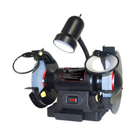 """8"""" 3/4 HP Bench Grinder with Light - 10558"""