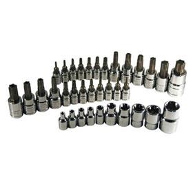 ATD Tools 35 Pc. Star Bit Socket Set - 125