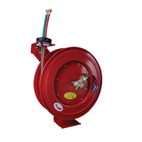 "ATD Tools 1/4"" x 50ft Retractable Twin Hose Welding Reel - ATD-31170"