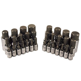 32 Pc. Master Hex Bit Socket Set - 13783