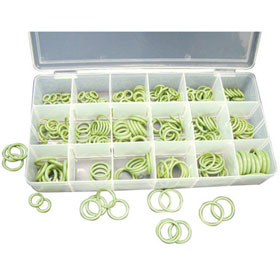 HNBR R12 and R134a O-Ring Assortment, 270 Pc.