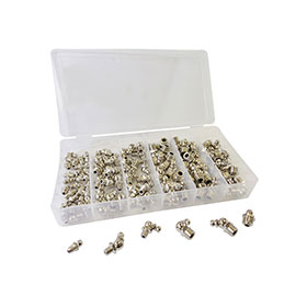 ATD Tools 110pc SAE Hydraulic Grease Fitting Assortment - 357