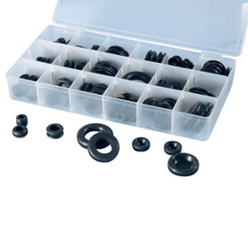 ATD Tools 125 Pc. Rubber Grommet Assortment - 362