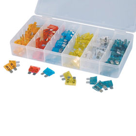 120 Pc. ATC Car Fuse Assortment - 364
