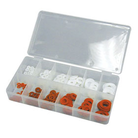 ATD Tools 200 Pc. Fiber and Nylon Washer Assortment - 371