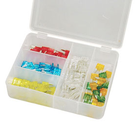 100 Pc. Mini Car Fuse Assortment - 382