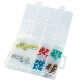 100 Pc Low-Profile ATM Fuse Assortment - 392