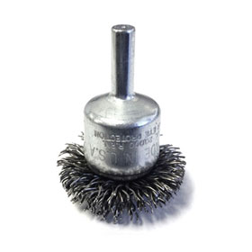 "ATD Tools 1-1/2"" Circular Flared Crimped Wire End Brush - 8255"