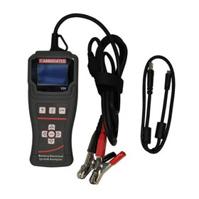 Associated Equipment Lightweight Hand-held 12V Battery/Electrical System Tester - 12-1012