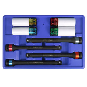 Astro 8pc Torque Limiting Extension And Protective Impact Socket Combo Set - 78818