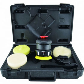 "Astro Pneumatic ONYX 3"" 2500RPM Geared Palm Polisher Kit - 331"