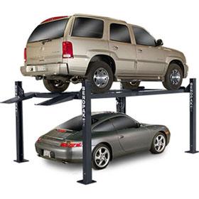 BendPak 7,000-lb. Capacity Short Runways Extra-Wide, Extra-Tall Car Lift - HD-7W
