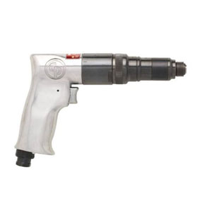 Chicago Pneumatic Pistol Grip Screwdriver with Roller Clutch and External Clutch Adjustment - CP781